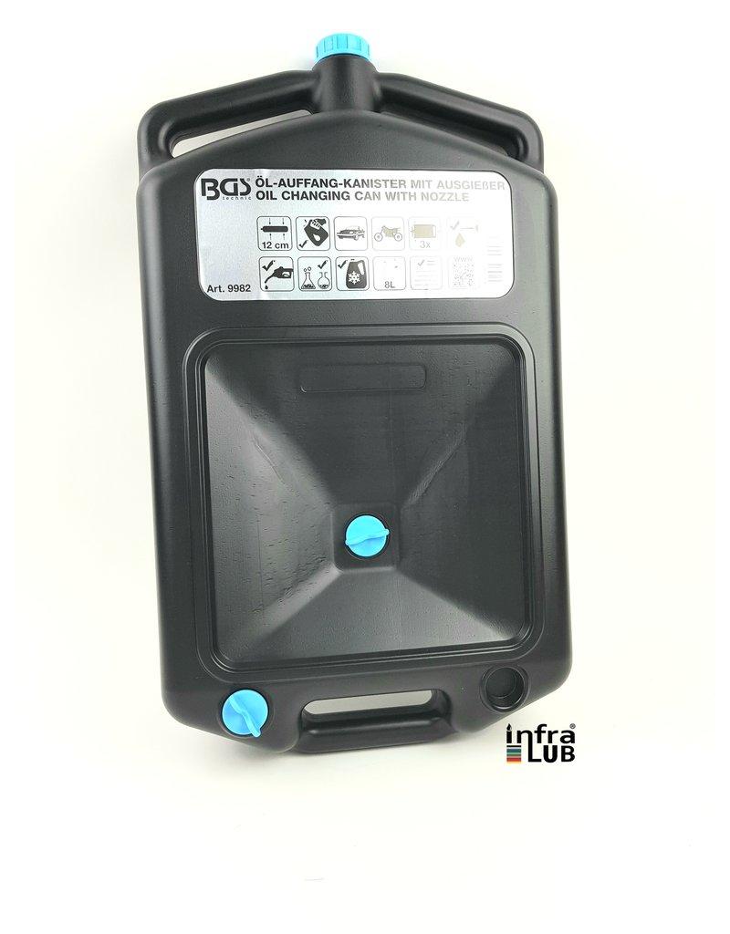 BGS Olie opvang reservoir 8 liter