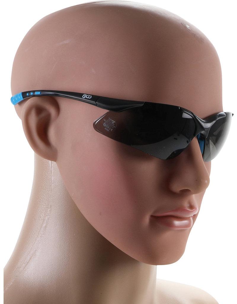BGS BGS Veiligheidsbril grijs getint