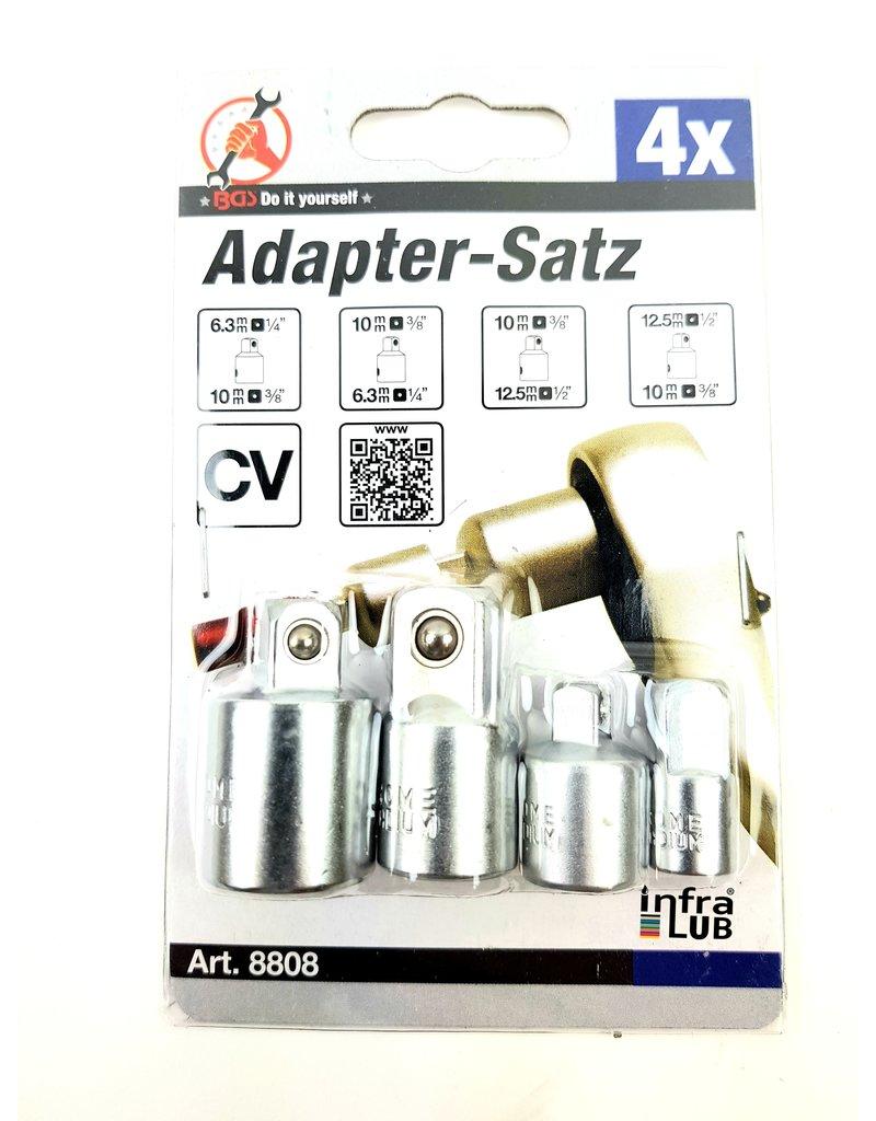 BGS Ratel doppen 4 delige adapterset