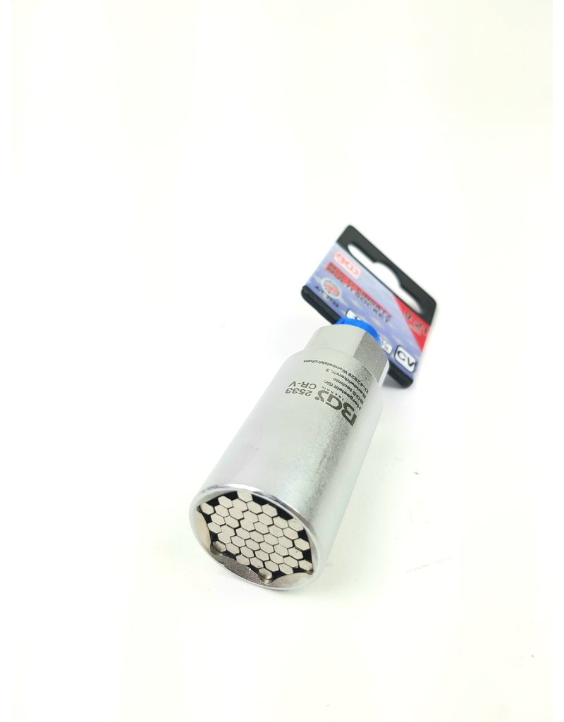 """BGS Multi dopsleutel inzet 3/8"""" 