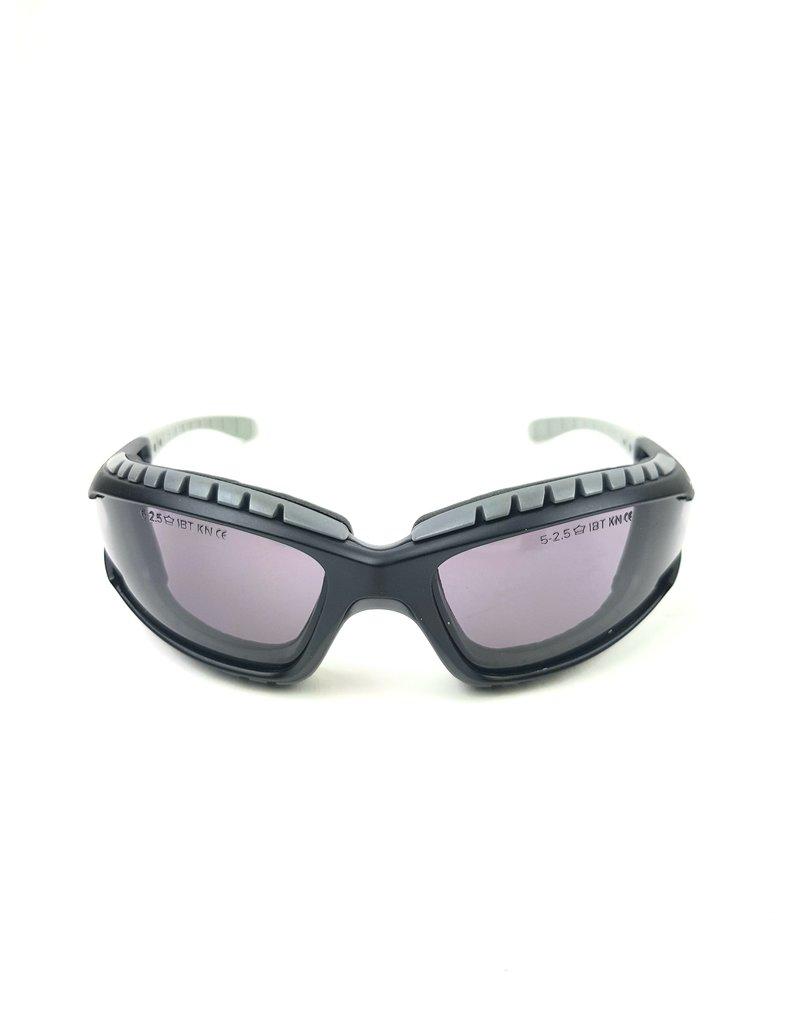 Bollé Safety Bollé Tracker II Tactical Bril grijze smoke lens platinum zwart