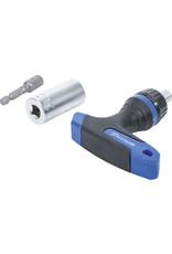 BGS Multi-dop  adapterset T-ratelhandgreep 3-delig