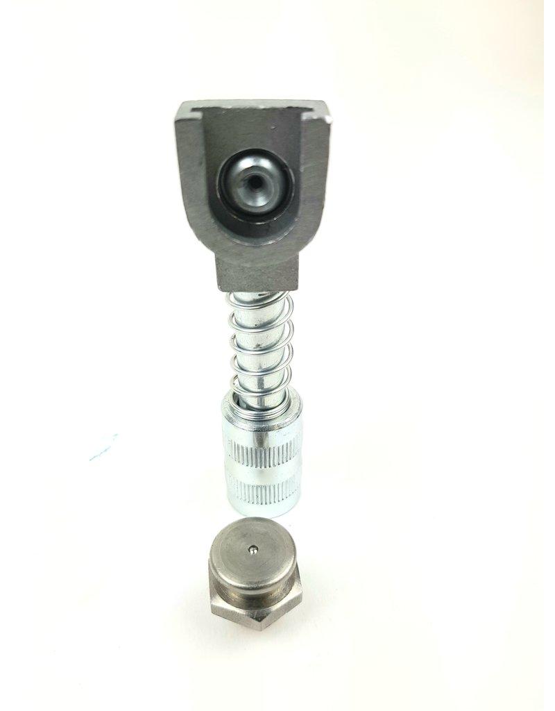 Schuifkop 16mm adapter voor vlaksmeernippel