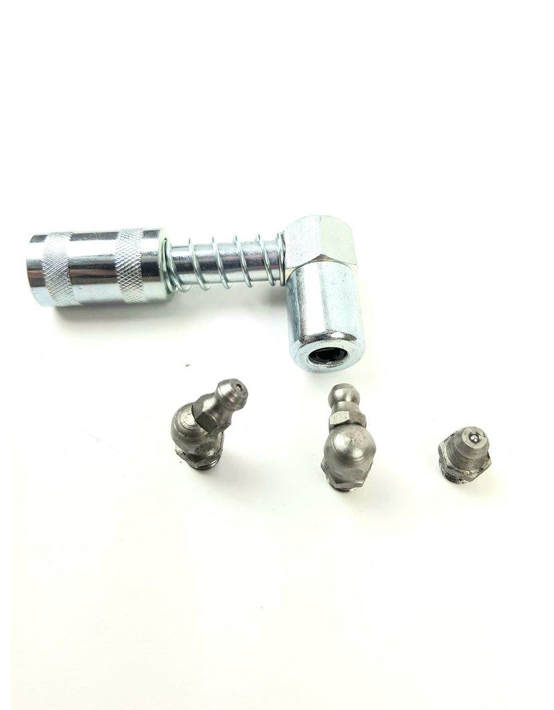 BGS BGS 90 graden smeerkop adapter