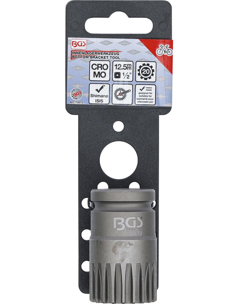 BGS Sleuteldop voor trapas lagers | montage en demontage van binnen lagers