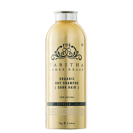 Tabitha James Kraan Compact Organic Dry Shampoo Dark Hair