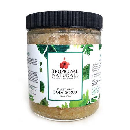 Tropicgyal Naturals Sweet Mint Body Scrub 330ml