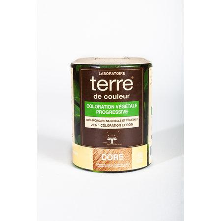 """Terre de Couleur Plantenkleuring """"Doré"""" 100gr"""