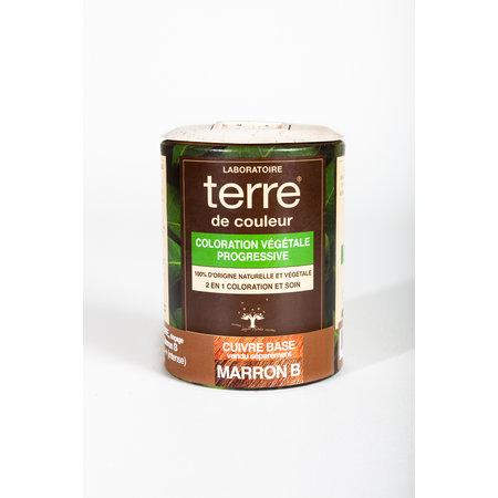 """Terre de Couleur Plantenkleuring """"Maron B"""" 100gr"""