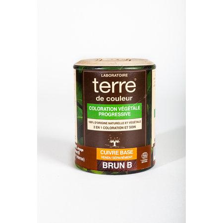"Terre de Couleur Plantenkleuring ""Brun B"" 100gr"