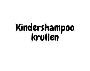 Kindershampoo krullen