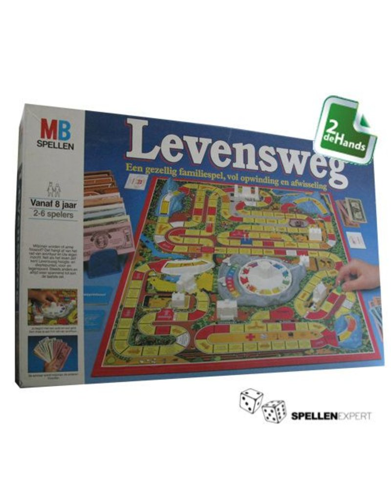 MB Levensweg 1984 Blauwe doos