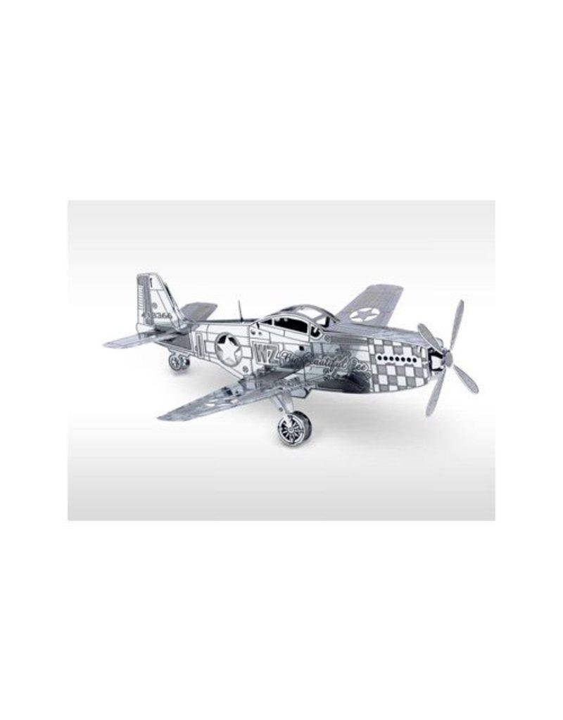 Bouwpakket P51 Mustang vliegtuig