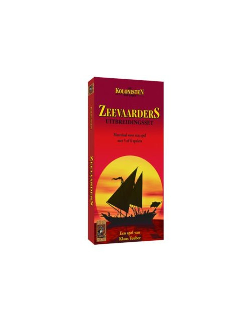 999 Games Kolonisten van Catan: Zeevaarders 5/6 uitbreiding