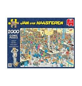 Jumbo Jan v. Haasteren: Kassa erbij!