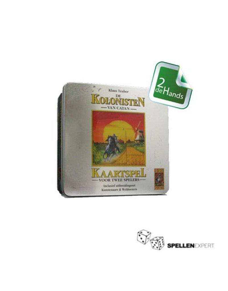 999 Games Kolonisten van Catan - Kaartspel Jubileumtin