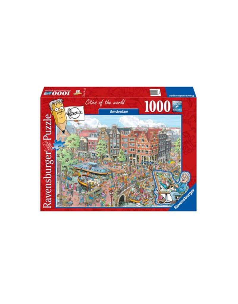 Ravensburger Cities of the World - Amsterdam