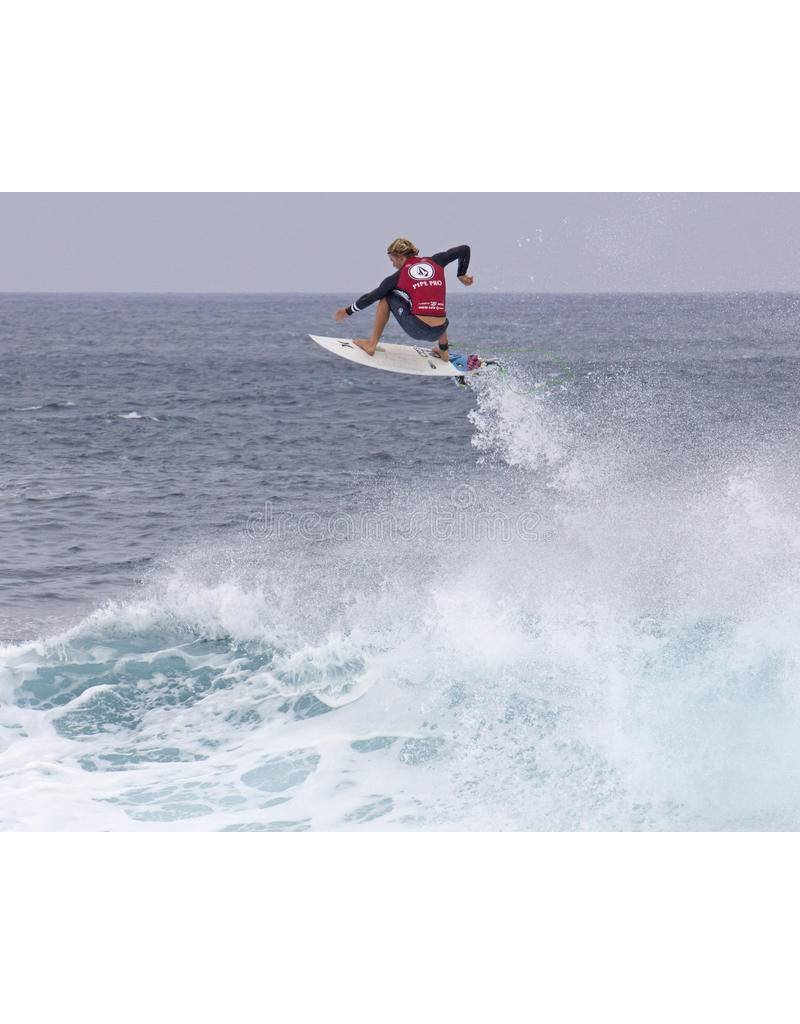"DAKINE John John Florence Comp 5'x 3/16"" Surf Leash  Black/Green"