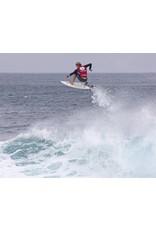 "DAKINE John John Florence Comp 5'x 3/16"" Surf Leash  Black/Orange"