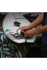 "DAKINE Longboard Calf 9'X 1/4"" Surf Leash Black Clear"