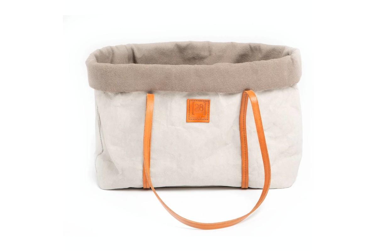 2.8 design for dogs Annie Hondentas grijs katoen