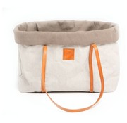 2.8 design for dogs 2.8 design for dogs Annie Pet Carrier Grey Cotton