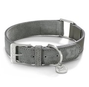 MiaCara MiaCara Como Dog Collar Graphite