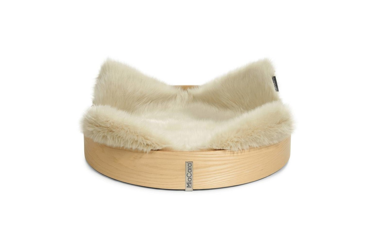 MiaCara Anello Cat Bed Ash / Ivory