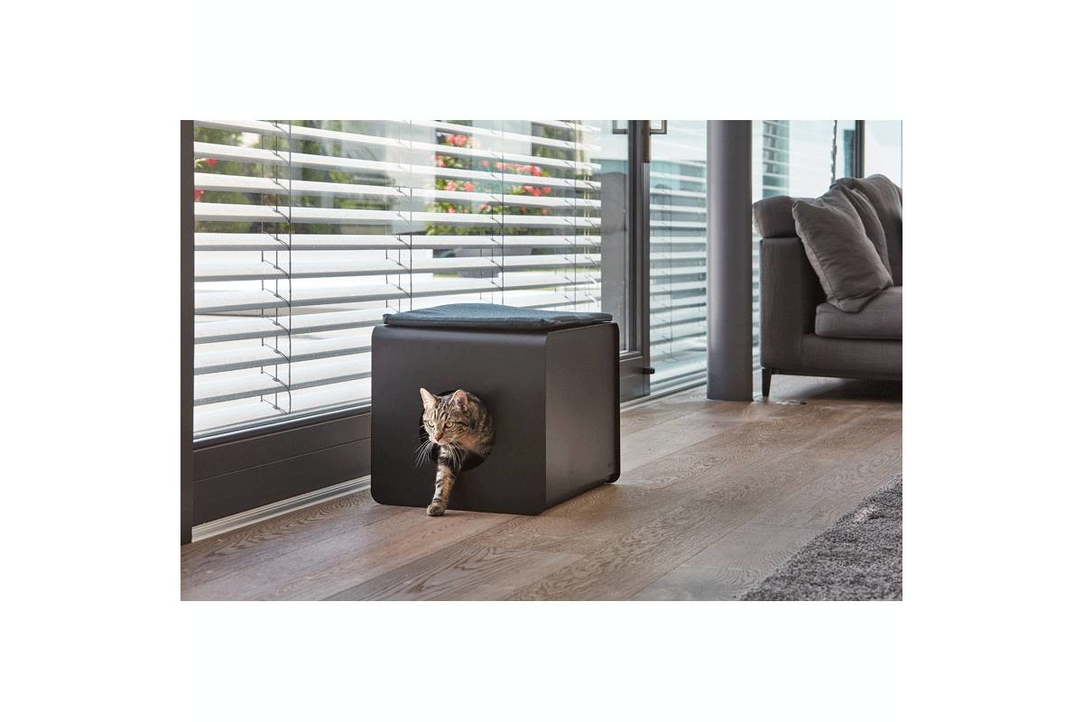 MiaCara Sito Litter Box White