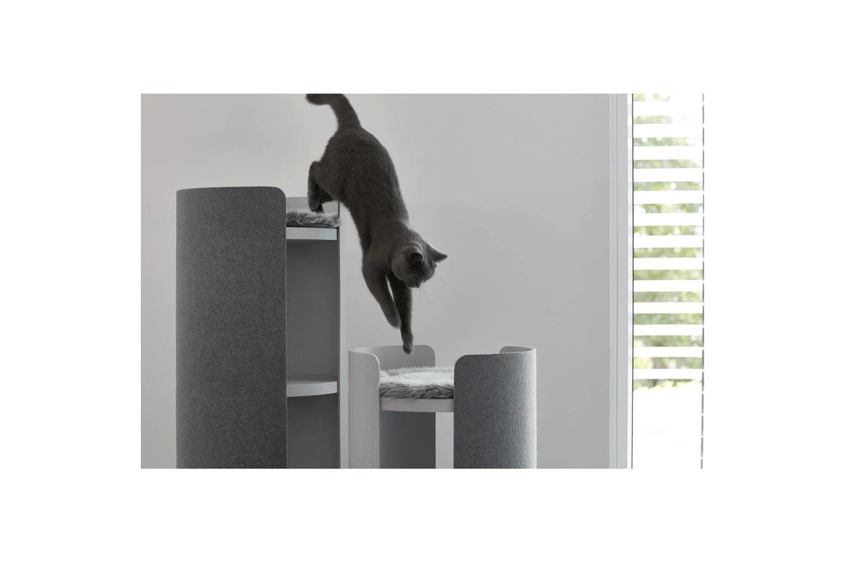 MiaCara Torre Scratching Post Natural
