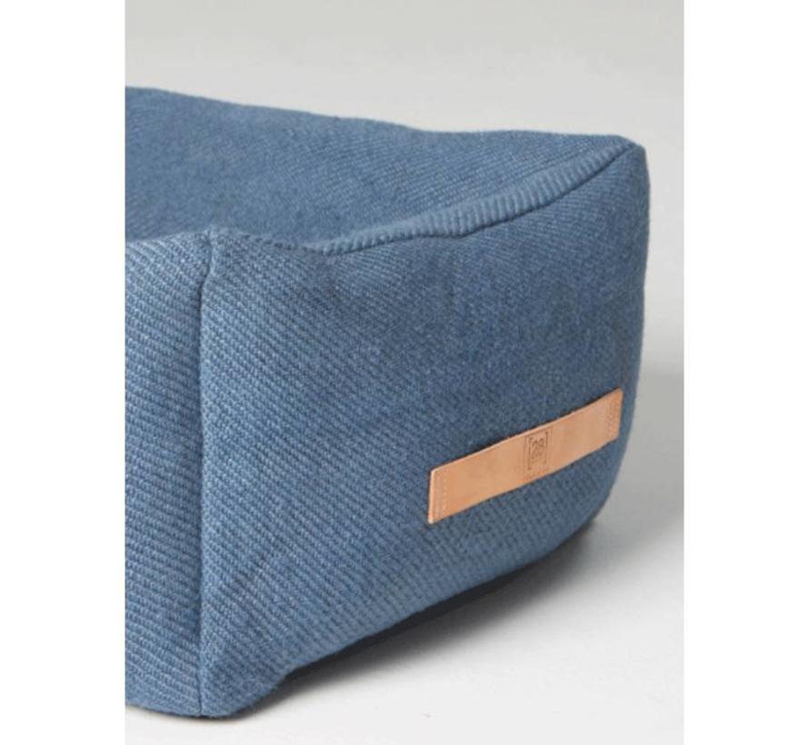 Duepuntootto Henri Jute Hondenmand blauw