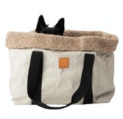 Duepontootto Duepuntootto Dorothea Pet Carrier Grey Wool