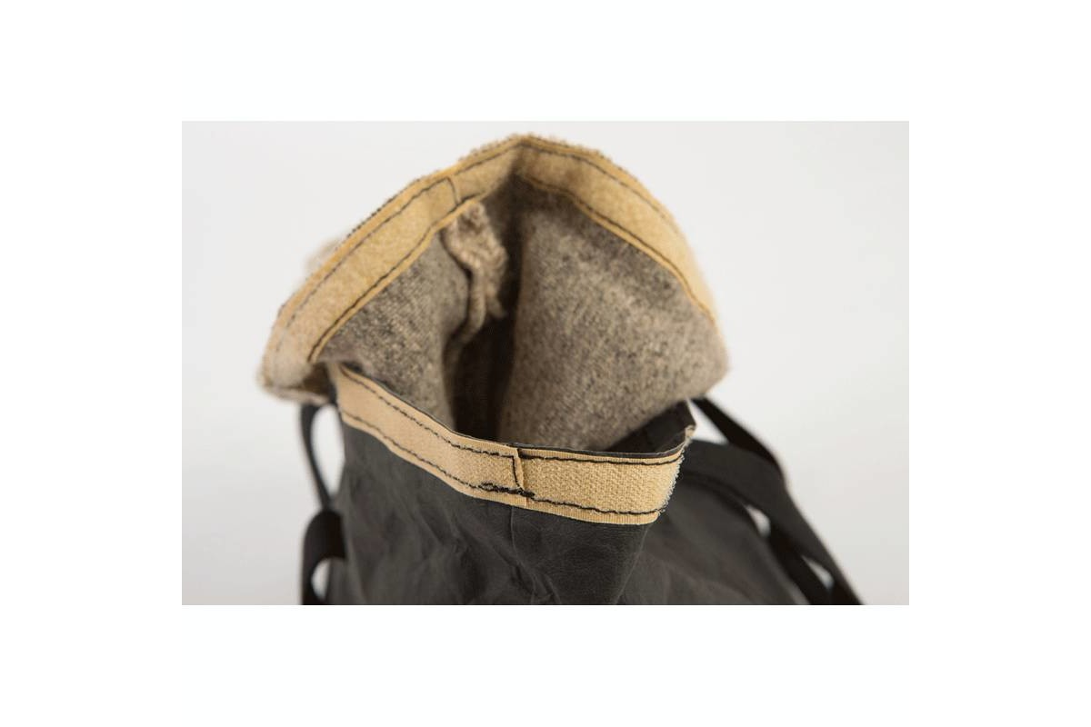 2.8 design for dogs Dorothea Pet Carrier Grey Wool