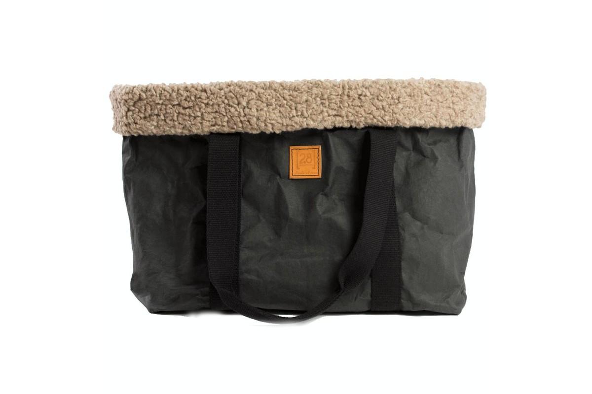 2.8 design for dogs Dorothea Pet Carrier Black Wool