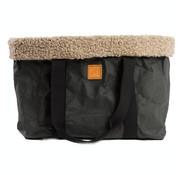 Duepontootto Duepuntootto Dorothea Dog bag black wool