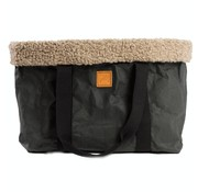 Duepontootto Duepuntootto Dorothea Pet Carrier Black Wool