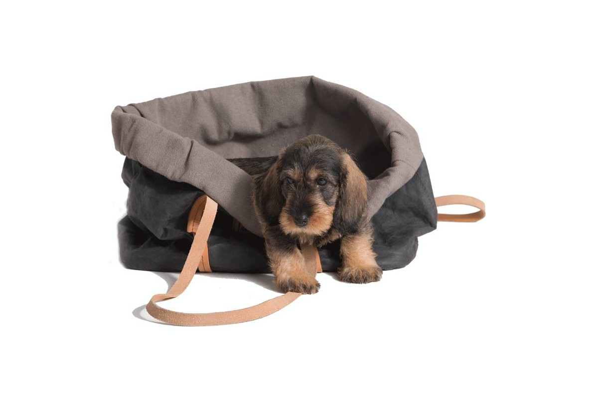 2.8 design for dogs Annie Hondentas zwart katoen