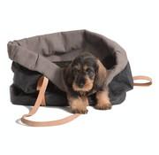 2.8 Design for dogs 2.8 Design für Hunde Annie Hundetasche Baumwolle Schwarz