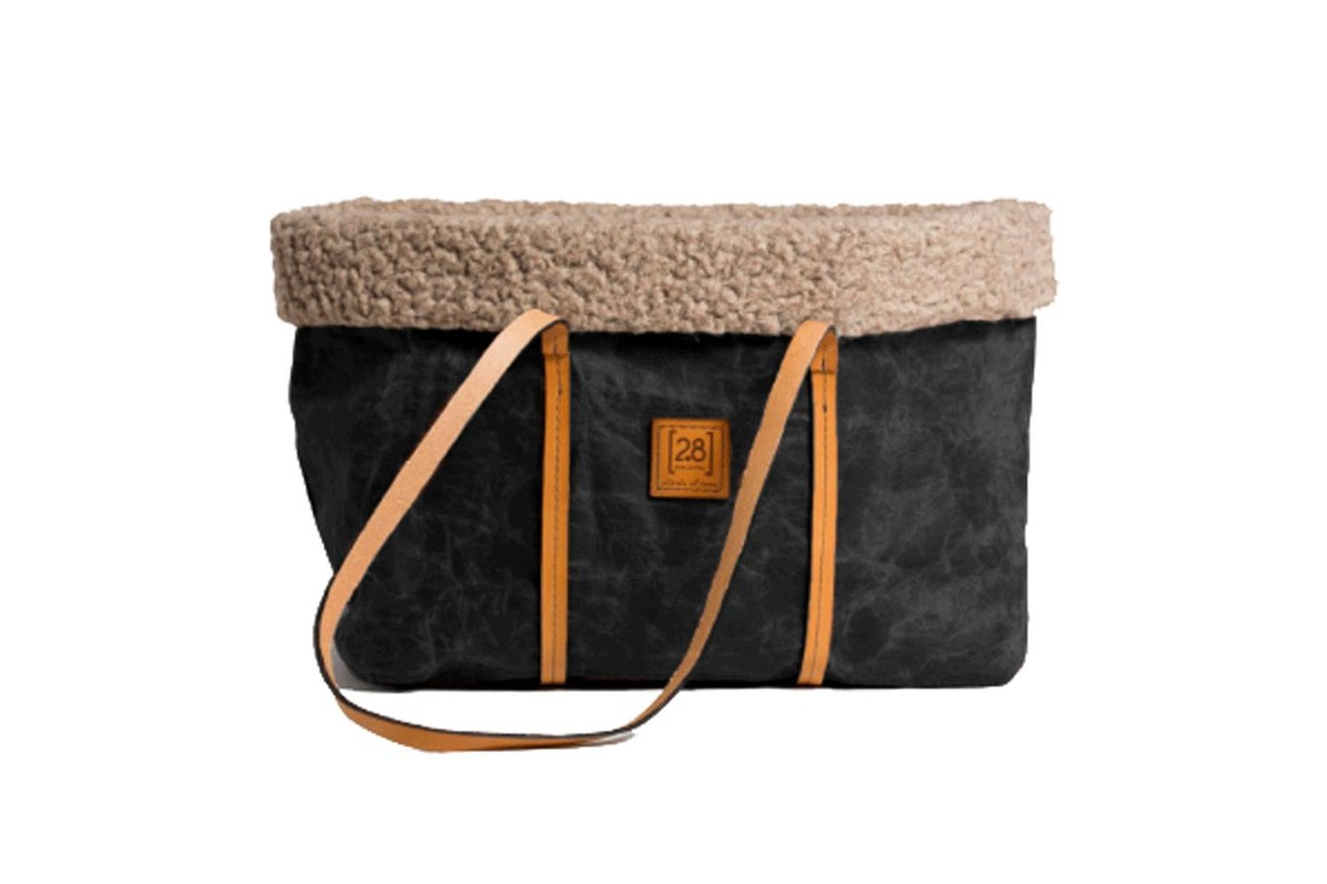 2.8 design for dogs AnniePet Carrier Waxed Black Wool