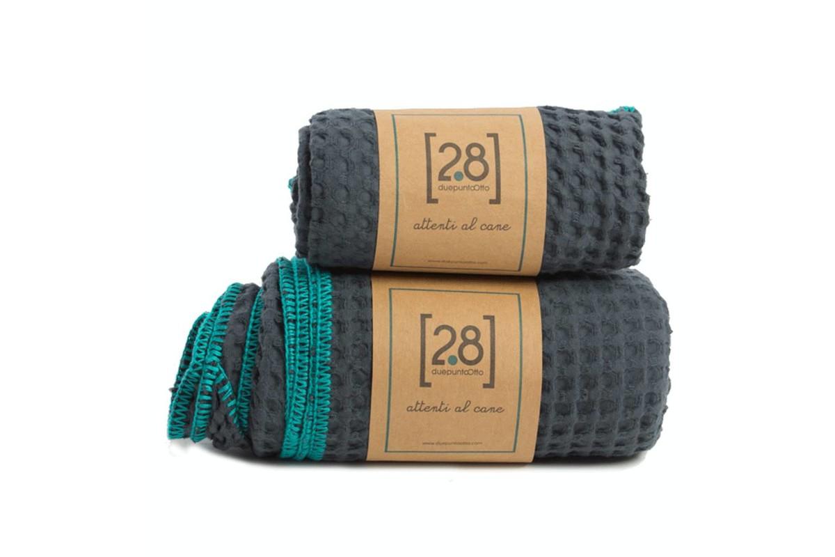 2.8 design for dogs Sally Hondenhanddoeken blauw