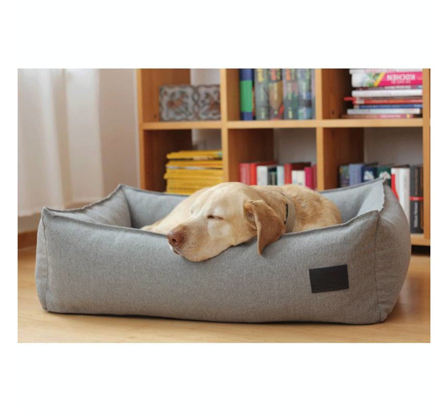 MiaCara Nube Dog Bed Smoke