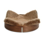 MiaCara MiaCara Anello Cat Basket walnut / taupe