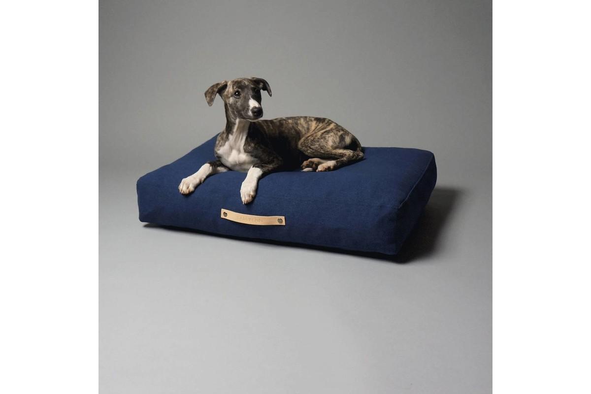 Labbvenn Stockholm Dog Cushion Navy Blue