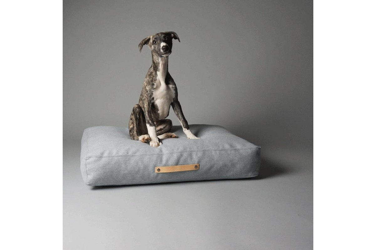 Labbvenn Oslo hondenkussen grijs