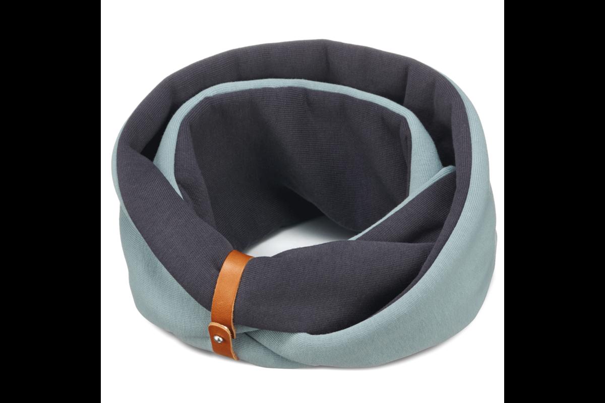 Labbvenn nekwarmer Simo turquoise/iron