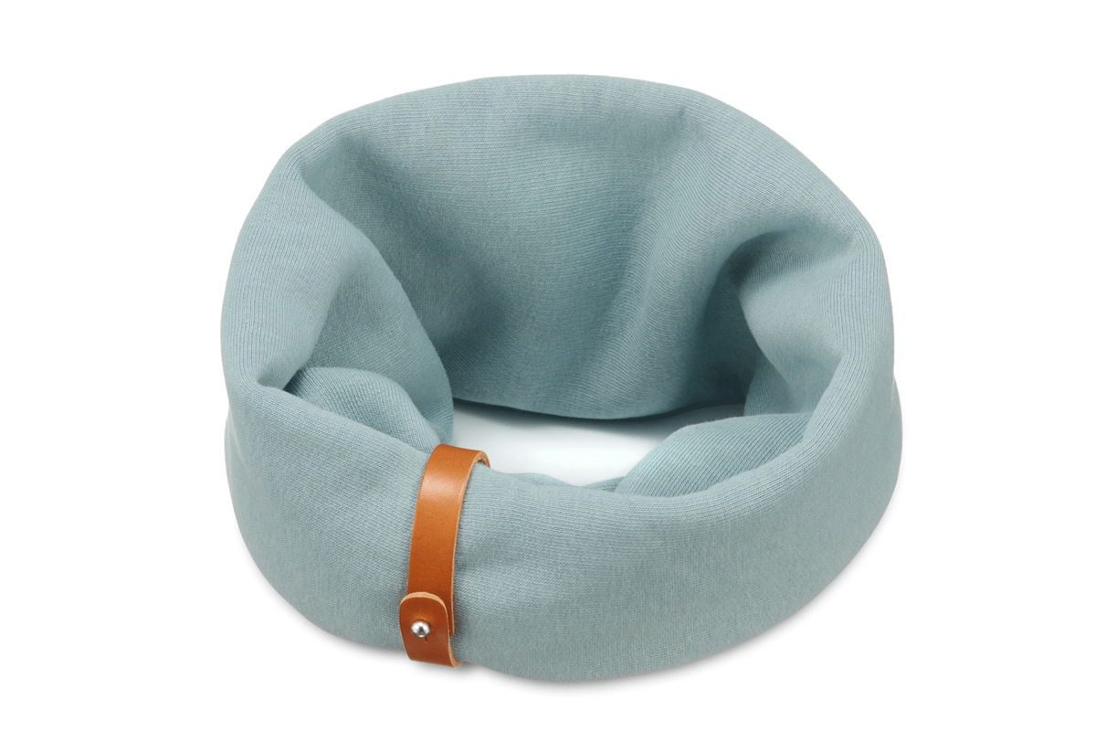 Labbvenn nekwarmer Inko  turquoise