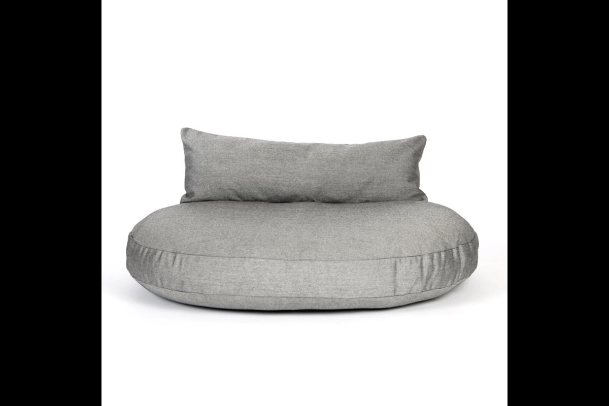 Laboni Design Dog Cushion Cover Luna Black Silk