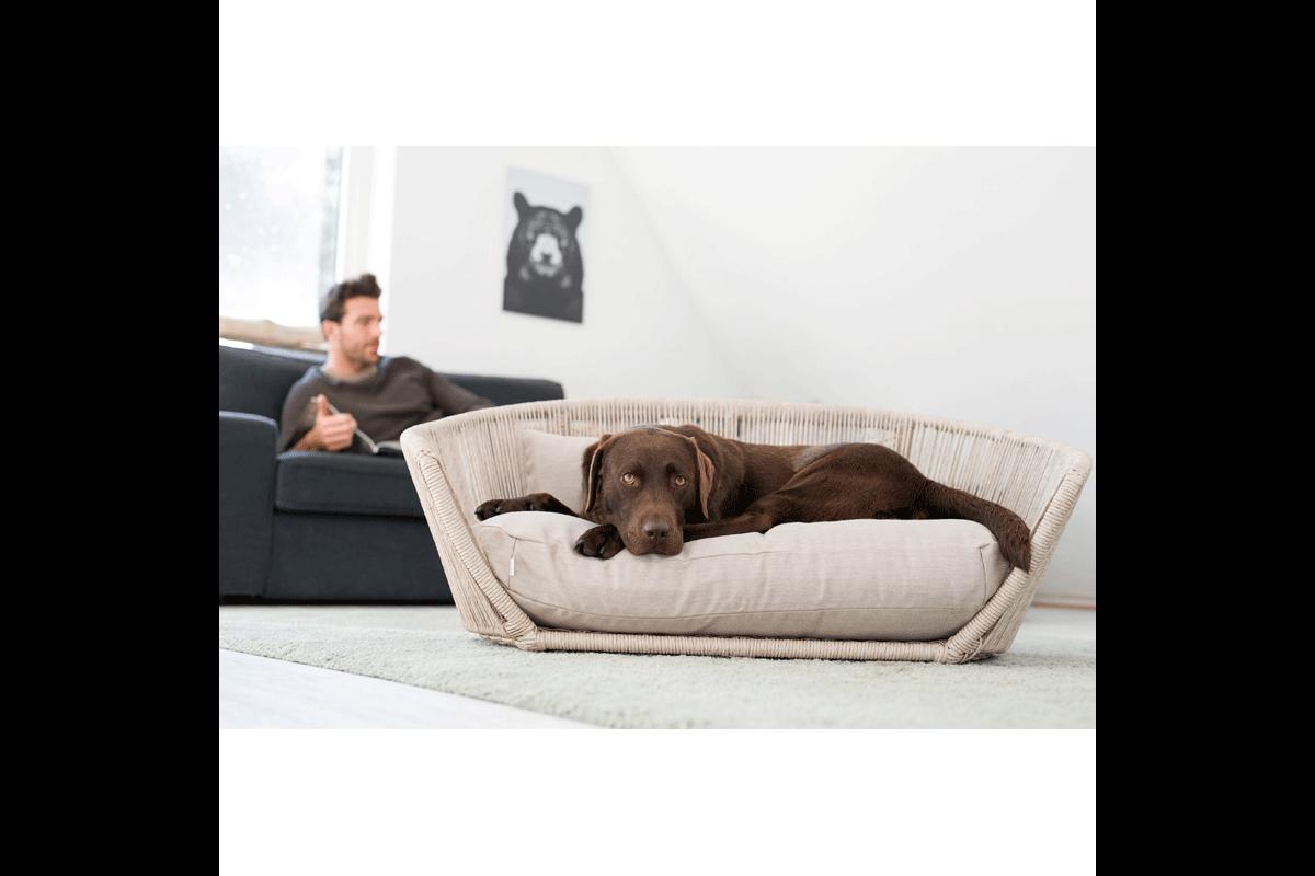Laboni Design hondenkussen Luna outdoor lino