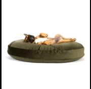 Laboni Design Laboni Design hondenkussen Luna  fluweel olive