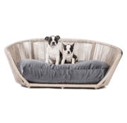 Laboni Laboni Design Dog Bed Vogue Black Silk